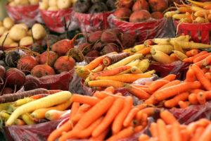 Moltes d'aquestes pastanagues de colors, es poden trobar avui dia en alguns mercats. Font: PhotoPin